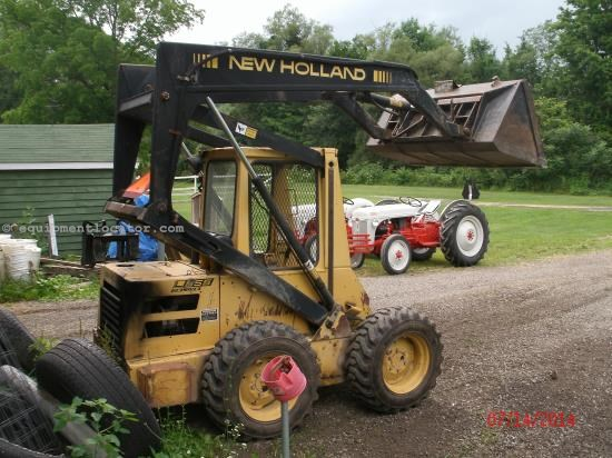 Skid Steer For Sale:  1987 New Holland L555