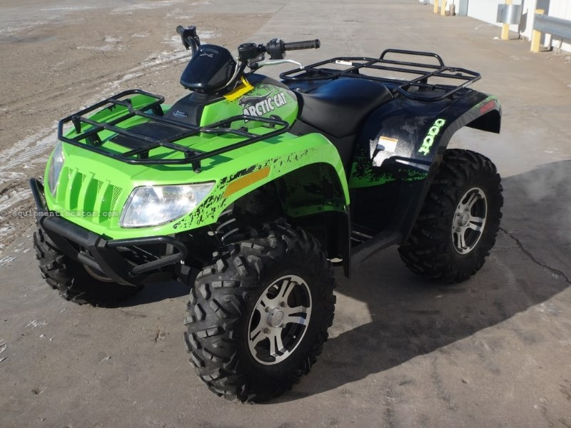 2011 Arctic Cat 1000, 840 Mi, 4 Stroke,Liq Cooled,Shaft Drive,4WD ATV For Sale