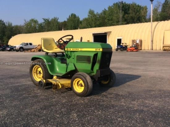 John Deere 214 >> John Deere 214 Riding Mower For Sale At Equipmentlocator Com