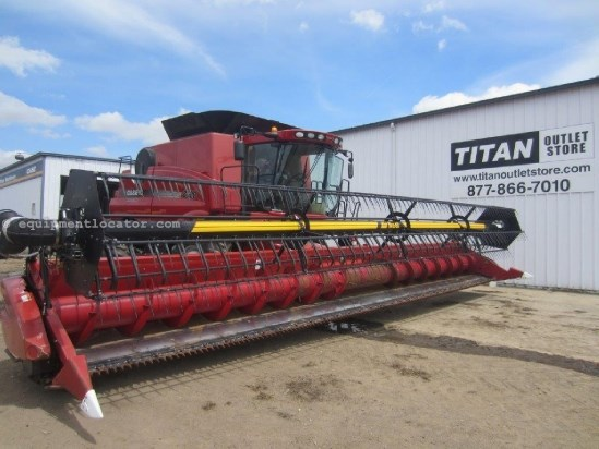 2009 Case IH 2020, 35Ft, FT, AHHC,Crary Air Reel,7088/7010/8010 Header-Flex For Sale