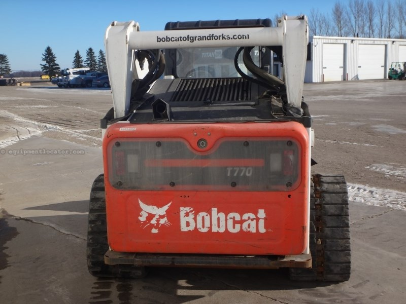 2011 Bobcat T770, 2039 Hr, Air/Heat, 2 Spd, Front Electric Skid Steer-Track For Sale