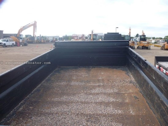 "2011 Load Trail DT14, Dump Box Dimensions 83"" X 14', Scissor Lift End Dump Trailer For Sale"