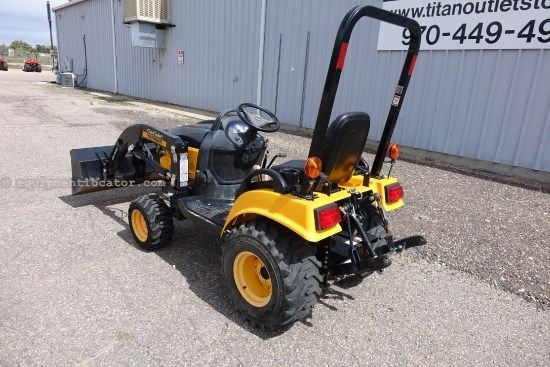 2008 Yanmar SC2400, Hydro Trans, Hi-Low Range, Front loader Tractor For Sale