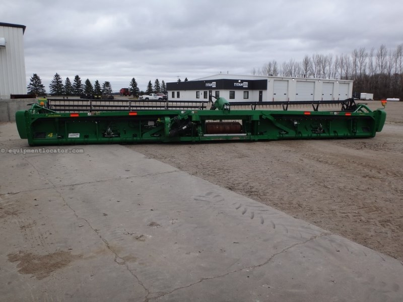 "2013 John Deere 640FD, 40', Fits JD9760/9870/New JD ""S"" Series Header-Draper For Sale"