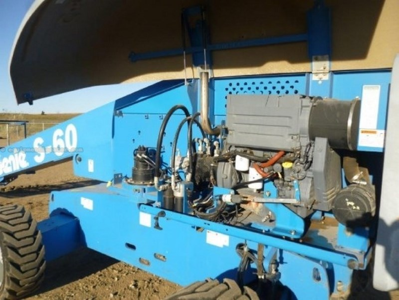 2008 Genie S60, 60' Boom, Diesel Boom Lift For Sale