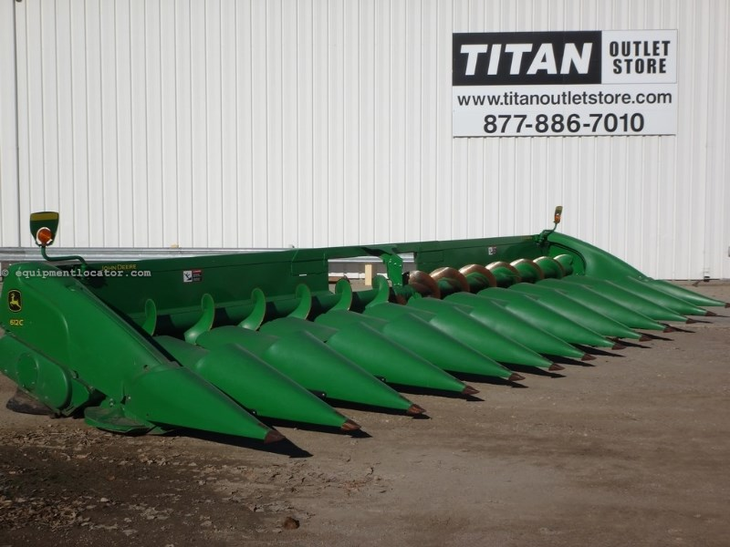 "2011 John Deere 612C Stalkmaster, JD9760/9870/New JD ""S"" Series Header-Corn For Sale"