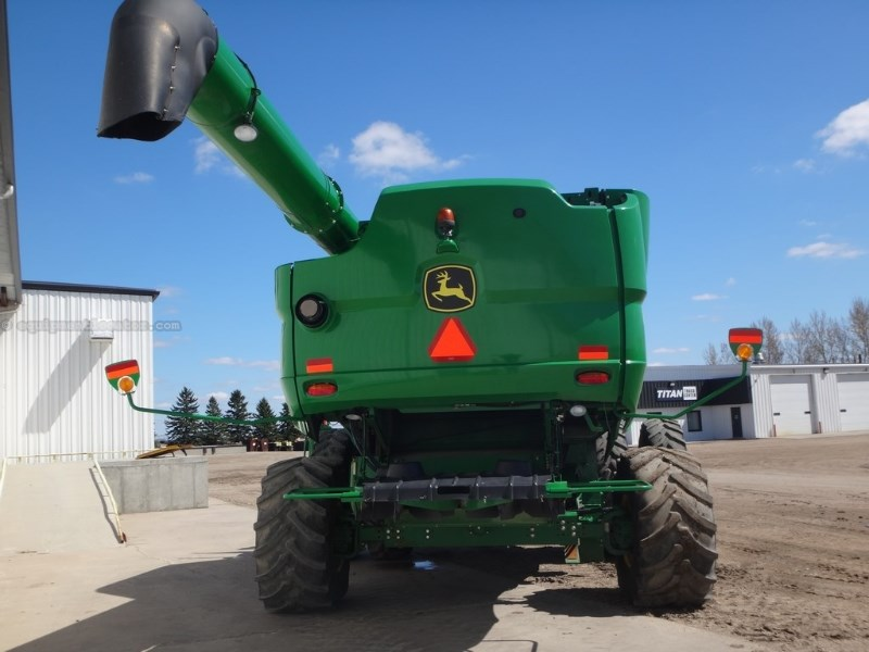 2013 John Deere S670,1084 Sep Hr, RWA, Bullet Rotor, Bin Ext, RT Combine For Sale