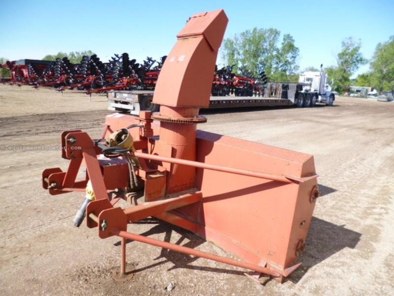 "1998 Schweiss 108, 540 PTO, 108"", Hyd Spout, Dbl Auger Snow Blower For Sale"