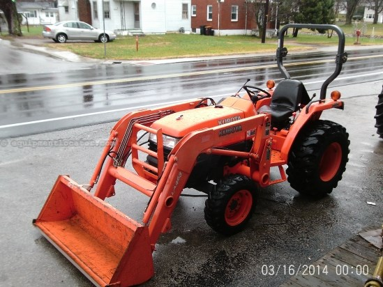 L3400 Kubota Tractor W Loader : Kubota l w loader tractor for sale at