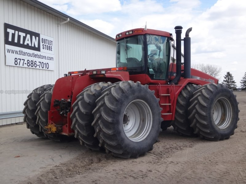 2002 Case IH STX450, 8515 Hr, 4 Rem, Trimble CFX750, Dlx Cab Tractor For Sale