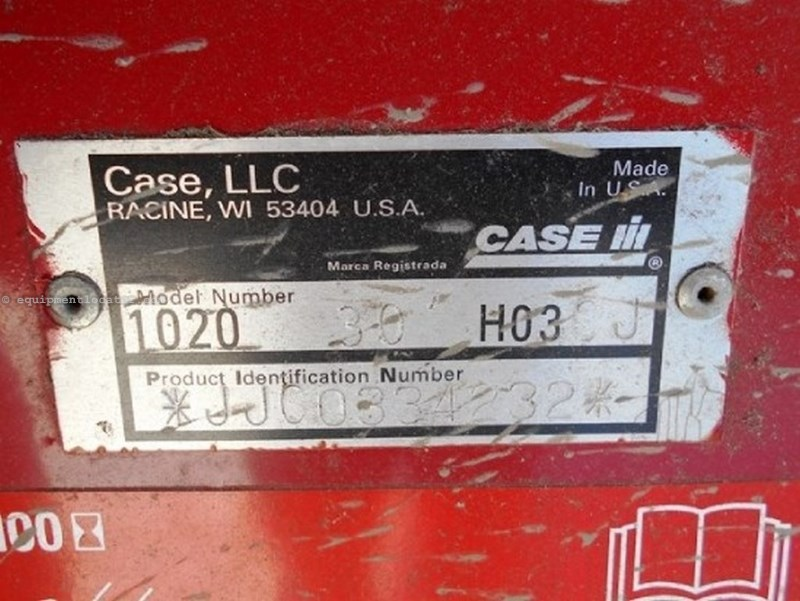 2004 Case IH 1020, 30', 1688/2188/2366/2388, FT, Plastic Finger Header-Flex For Sale