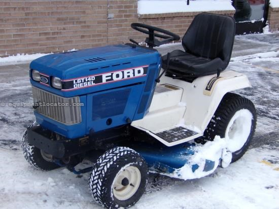 Used Ford Lawn Tractor : Ford lgt d riding mower for sale at equipmentlocator
