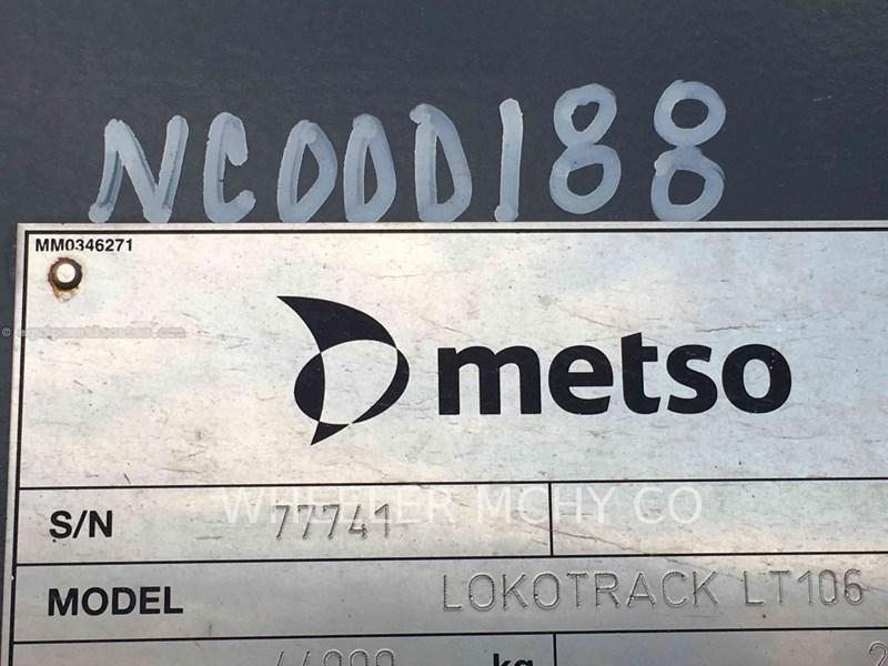 2014 Metso LT106 JAW Crusher For Sale at EquipmentLocator com