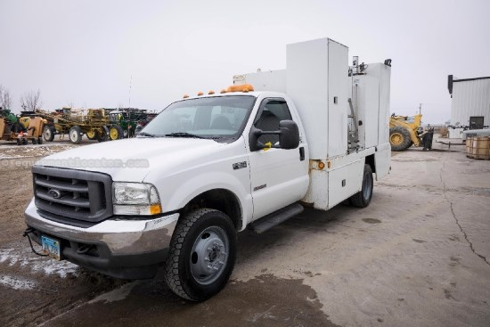 2004 Ford F550 Super Duty, 69326 Miles, 4X4, V8, Diesel, PS Service Truck For Sale