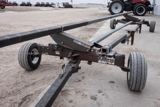 Killbros 30' length, Adj. bars, 4-tires Header Trailer For Sale