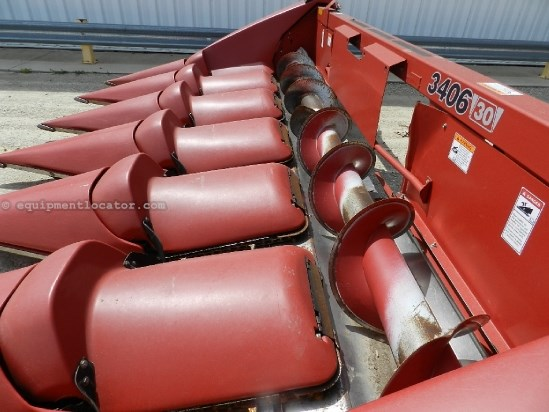 2010 Case IH 3406, 6R30, 7130/8230/9120, HHC, FT, Knife Rolls  Header-Corn For Sale