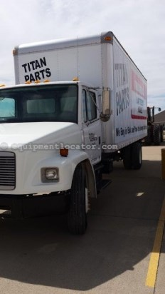 2000 Freightliner FL70, Cruise, Turbocharger, AC, PS , Man Trans Van Box Truck For Sale