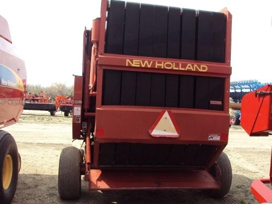 1993 New Holland 660, Belt Type,Var Bale Chamber,Mech Twine Control Baler For Sale