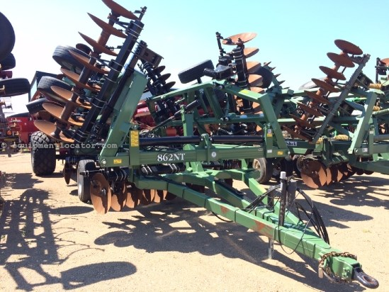 "2013 Wishek 862, 30', Single Fold, Tandems, 29"" Blade, Scraper Disk Harrow For Sale"