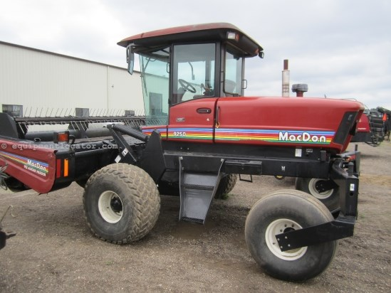 2003 MacDon 9250 Windrower-Self Propelled For Sale at