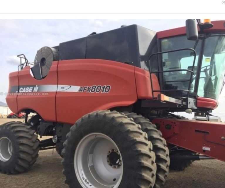 2005 Case IH 8010, 1425 Sep Hr, RWA, FT, RT, Bin Ext, Dlx Cab Combine For Sale