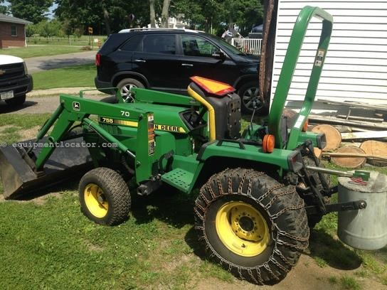 1992 john deere 755 tractor for sale at. Black Bedroom Furniture Sets. Home Design Ideas