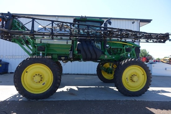 "2012 John Deere 4730, 100' Boom, Stainless Tank, 15"" Nozzle Space Sprayer-Self Propelled For Sale"