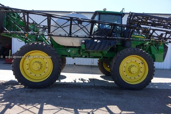 "2012 John Deere 4940, 120' Boom, Stainless Tank, 15"" Nozzle Space Sprayer-Self Propelled For Sale"
