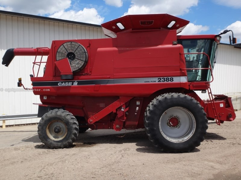 2004 Case IH 2388, 2018 Sep Hr, RWA, RT, AHHC, Crary Big Top Combine For Sale
