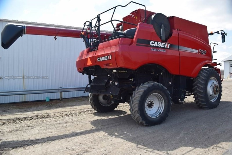 2011 Case IH 7120, 1836 Sep Hr, RT, FT, Dlx Cab, Hyd Bin Covers Combine For Sale