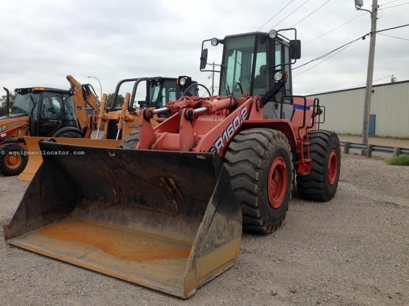 1995 Fiatallis FR1602, 10989 Hr, Air/Heat, 3rd Spool Wheel Loader For Sale