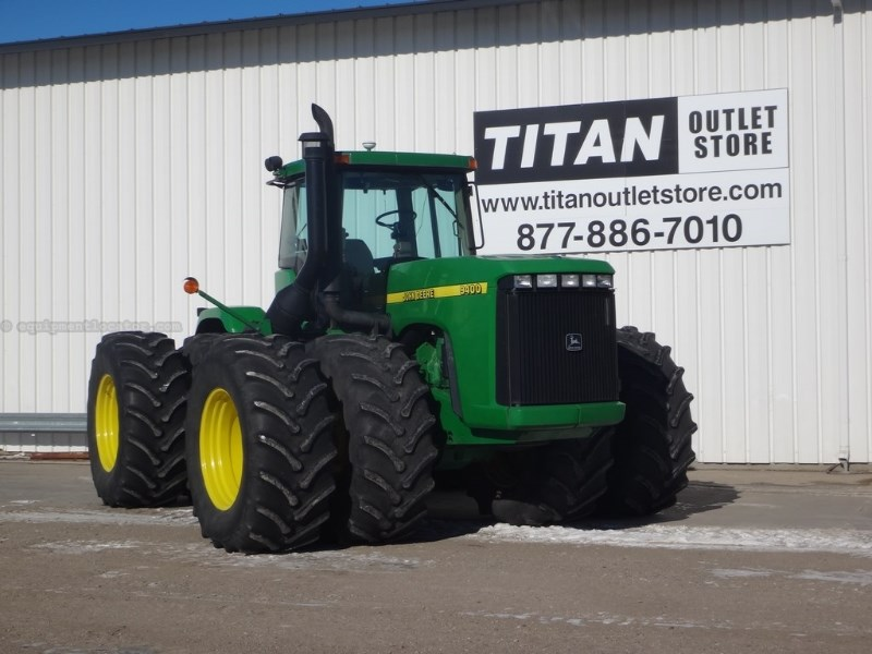 1997 John Deere 9400, 6993 Hr, 4WD, Outback, Diff Lock, 4 Remotes Tractor For Sale