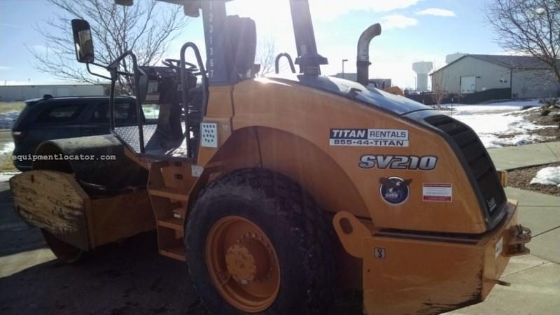 "2012 Case SV210, 66"" Single Drum, Smooth/Padfoot Compactor-Asphalt For Sale"