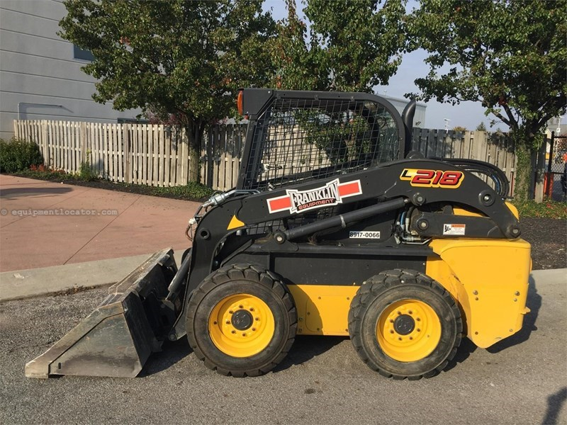 2014 New Holland L218 Skid Steer For Sale Stock 8917