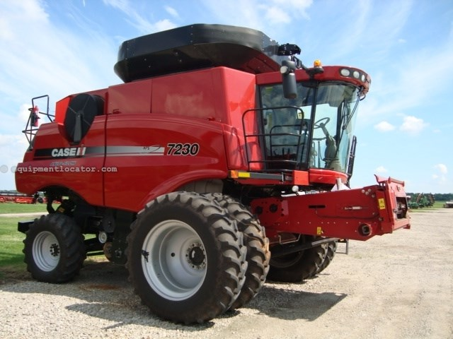 2012 Case IH 7230, 1118 Sep Hr, RT, FT, 2WD, Pro 700 Combine For Sale