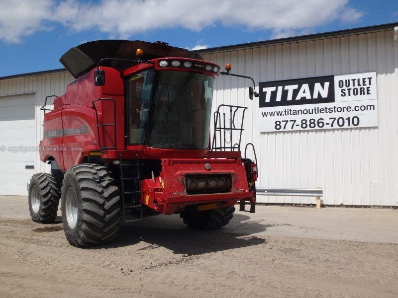 2012 Case IH 5130, 478 Sep, RT, Dlx Cab, HID Lighting    Combine For Sale