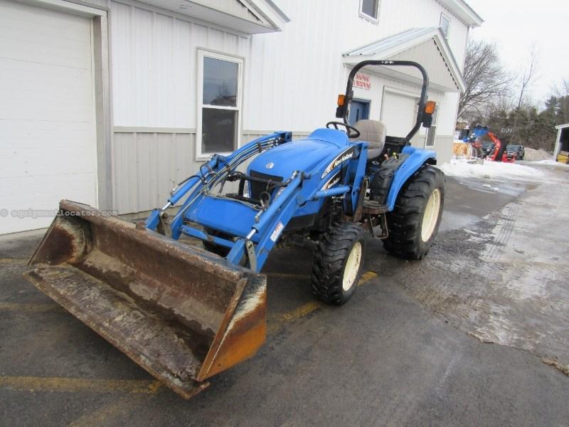 2006 New Holland TC35DA Tractor For Sale at EquipmentLocator com