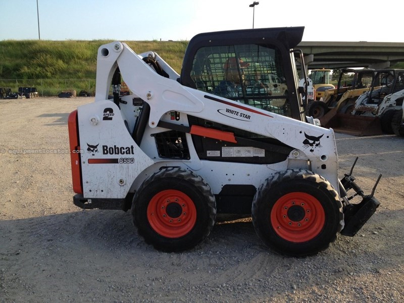 2013 Bobcat S590 Skid Steer For Sale at EquipmentLocator com