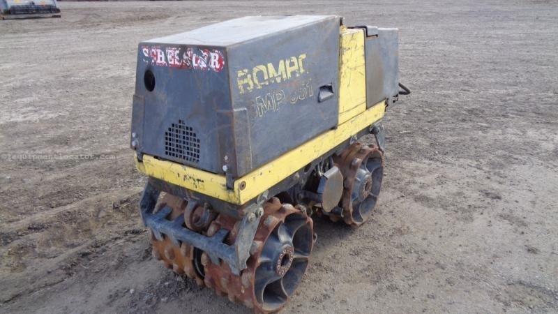 """1999 Bomag BMP851, 858 Hr, 36"""" Width, Pad-Foot, 3300#  Compactor-Asphalt For Sale"""