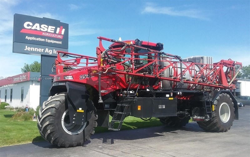 2015 case ih titan 3540 floater high clearance spreader for sale at equipmentlocator com