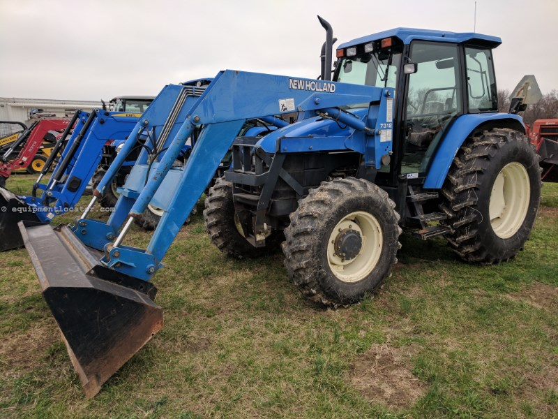 2001 New Holland TS110 Tractor For Sale at EquipmentLocator com
