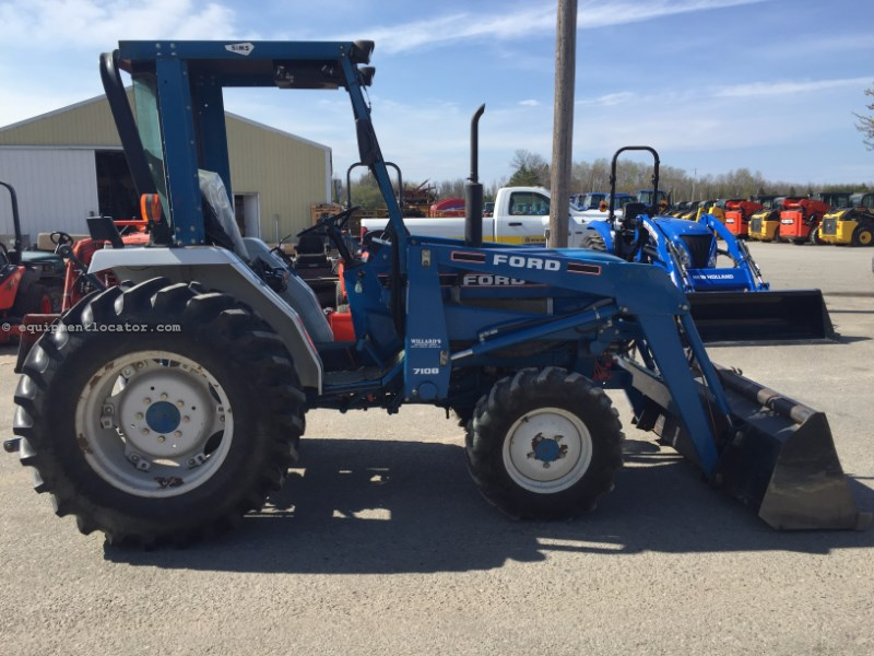 1994 Ford 1920 Tractor Compact For Sale At Equipmentlocator Com