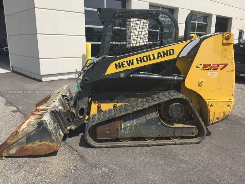 2012 New Holland C227 Skid Steer Track For Sale Stock