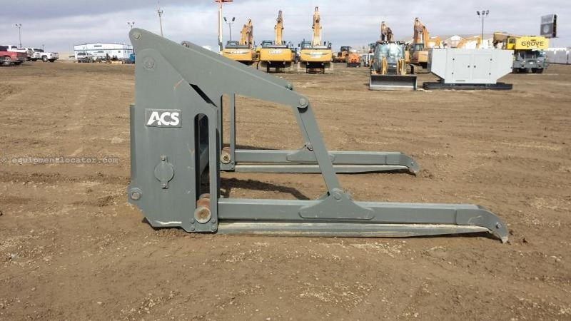 "2012 ACS Industries New Aged 108"" Vertical Arm Pipe Forks Grapple For Sale"