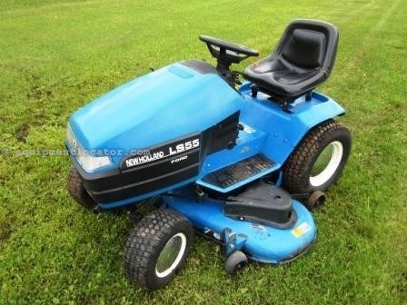New holland ls55 riding mower for sale at equipmentlocator sciox Choice Image