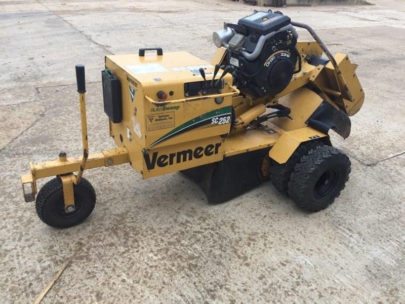vermeer sc252 stump grinder manual