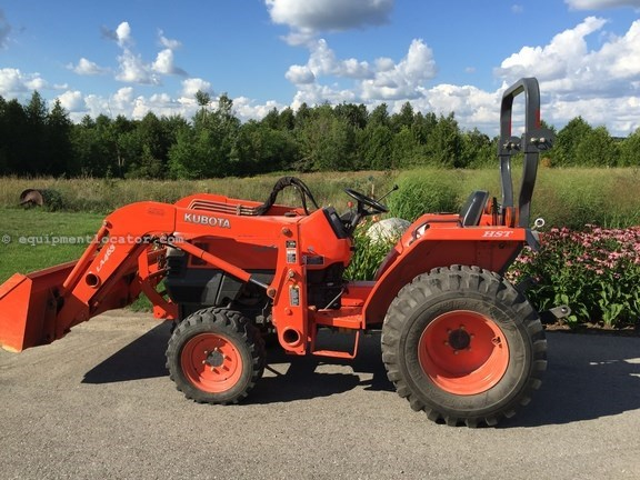 2004 Kubota L3400 Tractor For Sale at EquipmentLocator com