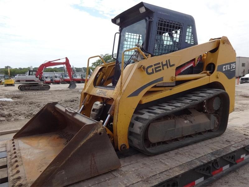 2011 Gehl CTL75 Skid Steer-Track For Sale or Rent at