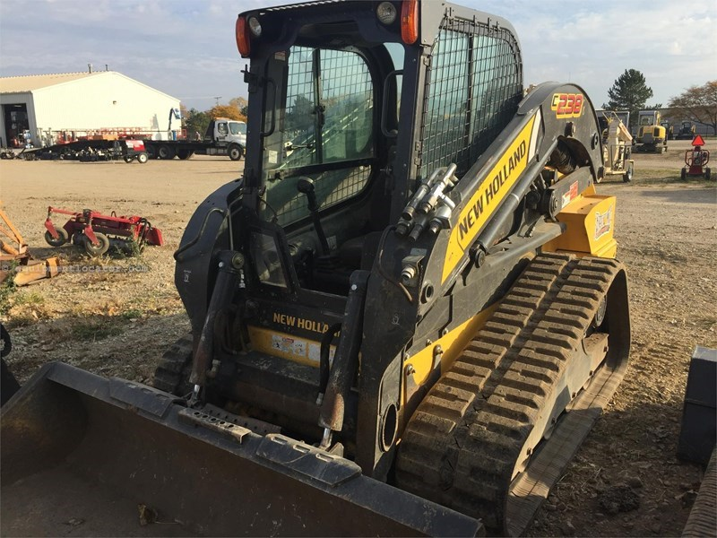 2014 New Holland C238 Skid Steer-Track For Sale STOCK#: 8829-7370 ...