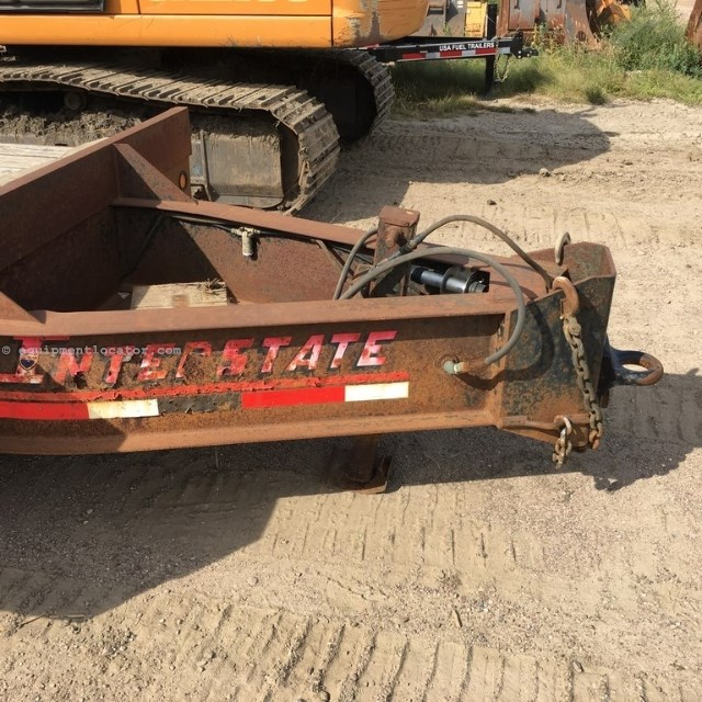 2004 Interstate 40DLA, Pintle Hitch, Flatbed Equipment
